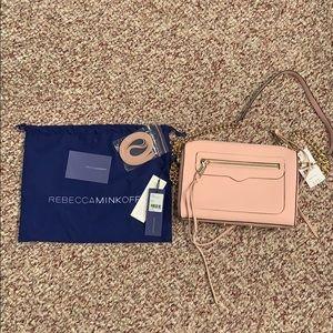 Rebecca Minkoff Baby Pink Avery Crossbody Bag